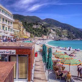 Mike Deutsch - Beach At Monterosso, Cinque Terre Italy