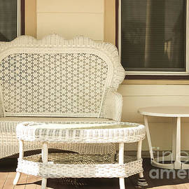Beach House Front Porch by Colleen Kammerer