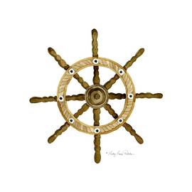 Beach House Nautical Boat Ship Anchor Vintage by Audrey Jeanne Roberts