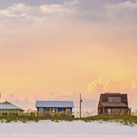 Beach House Sunset by Whitney Leigh Carlson