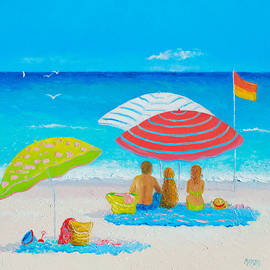 Beach Painting - Endless Summer Days by Jan Matson