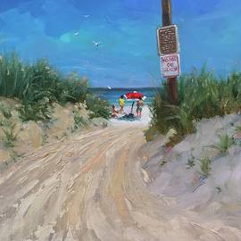 Beach Path two - Laura Lee Zanghetti