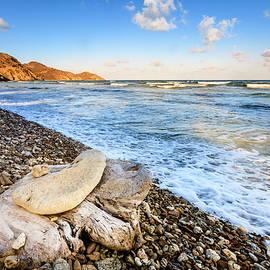 Alexey Stiop - Beach scene in British Virgin Islands