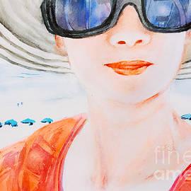 Beach Scene  by Lavender Liu