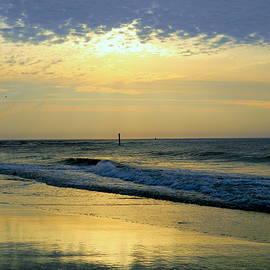 Arlane Crump - Beach - Sky Reflection