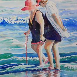 Beach Strollers by Marsha Reeves