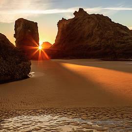 Beach Sunburst - Andrew Soundarajan