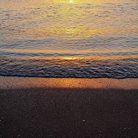 Debbie Oppermann - Beach Sunset Abstract