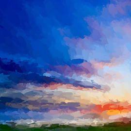 Anthony Fishburne - Beach sunset