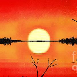 Beach Sunset by Bill Richards