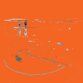 Frank Maxwell - Beachcombers in Orange