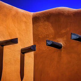Beams In Adobe Wall - Garry Gay