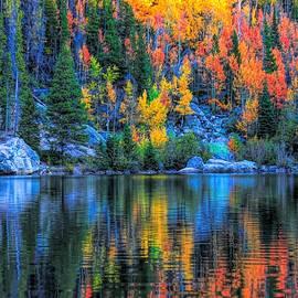 Bear Lake Autumn Reflection by Dan Sproul