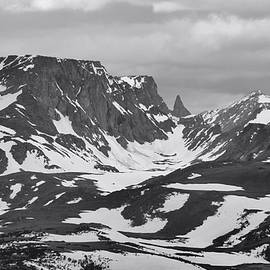 Dan Sproul - Beartooth Mountains Black And White