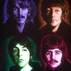 The Beatles Colors by Robert Korhonen