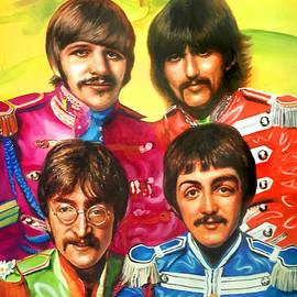 Beatles Sgt. Pepper by Robert Korhonen