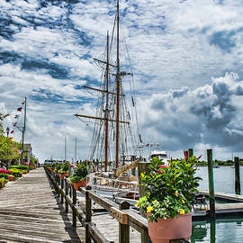 Beaufort Boardwalk by Kelley Freel-Ebner