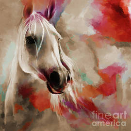 Beautiful Abstract Horse 03  by Gull G