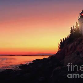 Elizabeth Dow - Beautiful Bass Harbor Lighthouse