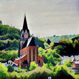 Lisa Lemmons-Powers - Beautiful Church on the Rhine