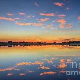 Beautiful Cloud Reflections   by Robert Bales