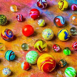 Beautiful Colored Glass Marbles - Garry Gay