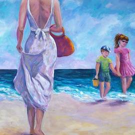 Rosie Sherman - Beautiful Day at the Beach