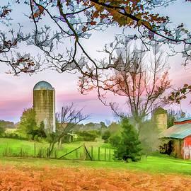 Lisa Lemmons-Powers - Beautiful Farm in Fall