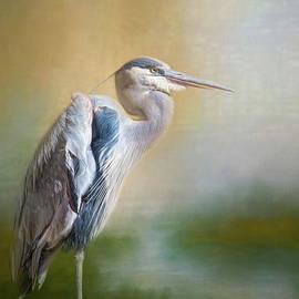 Beautiful Heron by Elisabeth Lucas