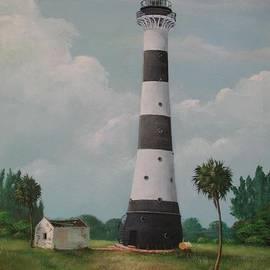 Cape Canaveral Lighthouse Florida by Teresa Trotter