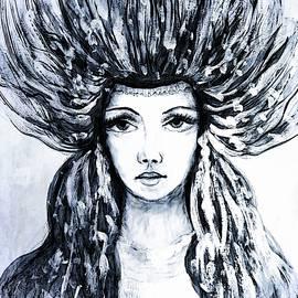 Lilia D - Beautiful Numph in black and White