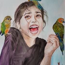 Vidya Vivek - Beautiful Perch