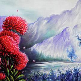 Arun Sivaprasad - Beautiful Scenery The Red Flowers