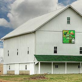 William Sturgell - Beautiful White Quilt Barn