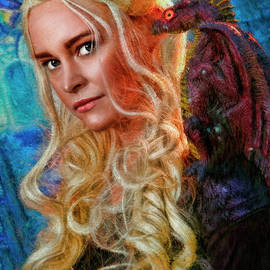 Blake Richards -  Beauty And Her Flying Dragon
