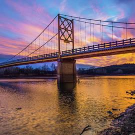 Gregory Ballos - Beaver Bridge - The Little Golden Gate Bridge of Arkansas