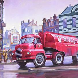 Bedford S type tanker. - Mike Jeffries