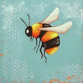 Lucia Stewart - Bee Painting three