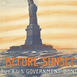 Movie Poster Prints - Before Sunset Buy Bonds 1917