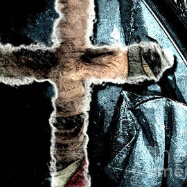 Behind The Thin Veil Of The Cross by Reed Novotny