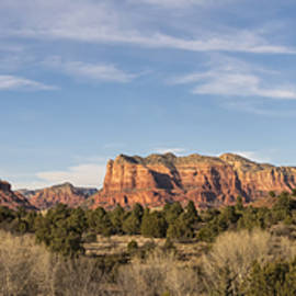 Brian Harig - Bell Rock Morning Panorama - Sedona Arizona