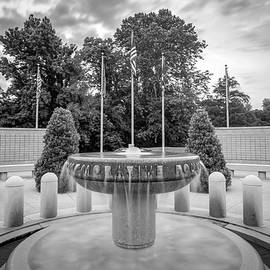 Gregory Ballos - Bella Vista Veteran War Memorial - Northwest Arkansas - Monochrome