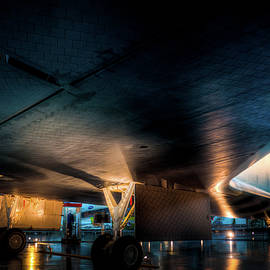 Belly Of The Shuttle by Daryl Clark