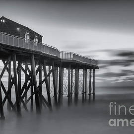 Belmar Morning bw by Jerry Fornarotto