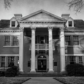 Belo Mansion Dallas BW by Joan Carroll