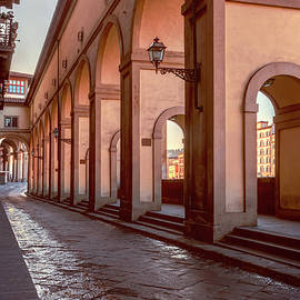 Joan Carroll - Below the Visari Corridor Florence Italy