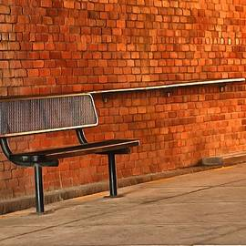 Bench - Montgomery, Alabama, 2018 by Robert Brown