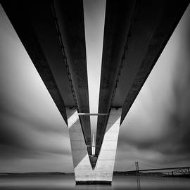 Beneath the Queensferry Crossing by Dave Bowman