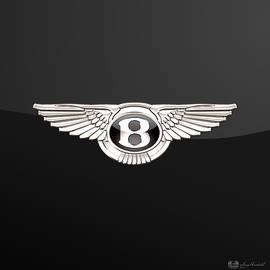Bentley - 3 D Badge On Black
