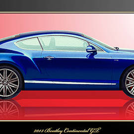Bentley Continental GT with 3D Badge